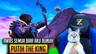 KUCING PUTIH GAMER PALING JAGO DI DUNIA - FORTNITE INDONESIA #4