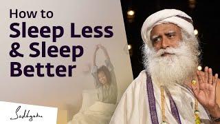 How to Reduce Sleep Quota and Increase Sleep Quality?