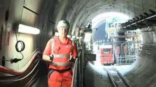 Behind the hoardings: Constructing Crossrail's eastern running tunnels, October 2014