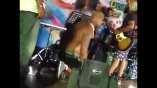Chamara Ranawaka Cazy Dance In Korea