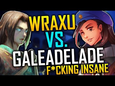 WRAXU VS. GALEADELADE INSANE GAME