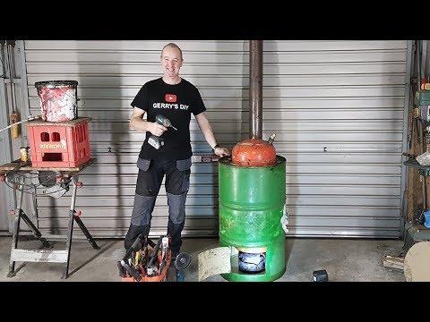 Xxx Mp4 Waste Oil Burner Make Lots Of Free Hot Water Part 1 3gp Sex