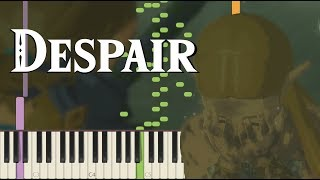 Despair - Breath of the Wild (Memory #16) (Clean Version OST) [Synthesia Piano Tutorial]