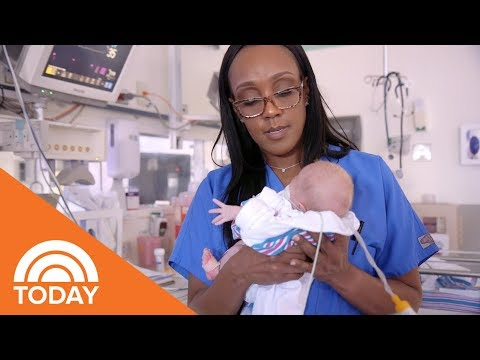 Xxx Mp4 NICU Nurse Sandy Content On Having The Greatest Job In The World Even On The Bad Days TODAY 3gp Sex