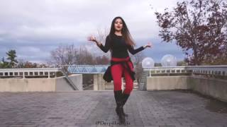Young lady dance super Bollywood dhaka ka by animals discovery