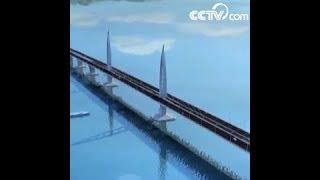 أكبر نفق طريق مقطعا عرضيا في العالم|CCTV Arabic