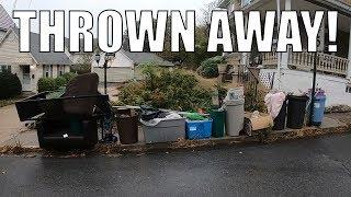 People will THROW AWAY ANYTHING - Trash Picking Ep. 192