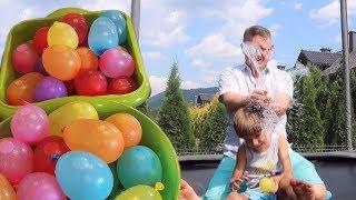 Water Balloon Garden Fun