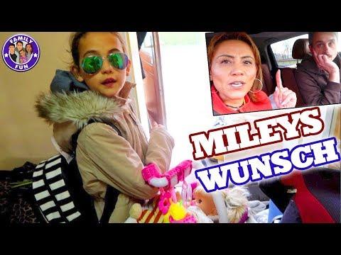 MILEYS WUNSCH wird erfüllt Ab ins AUSLAND Family Fun