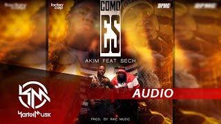 Akim Ft Sech - Como Es   AUDIO