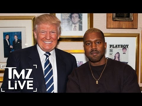 KANYE WEST S Meeting with DONALD TRUMP TMZ Live
