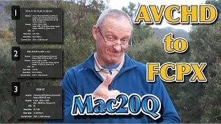AVCHD to FCPX for video editing