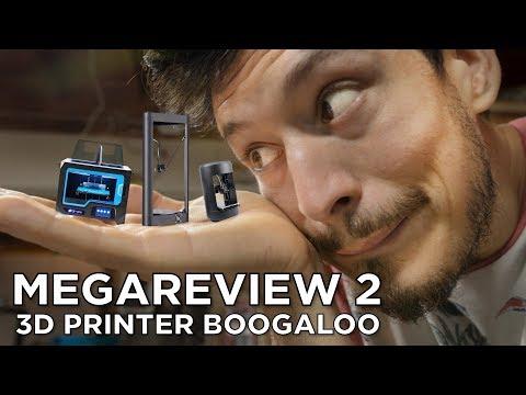 Download Lagu FLSUN QQ, Xinkebot Capsule, Qidi Tech X-Pro // 3D Printer Mega Review 2 MP3