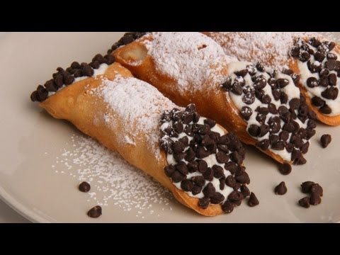 Homemade Cannoli Recipe - Laura Vitale - Laura in the Kitchen Episode 349