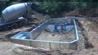2013 Grecian Pool Construction Time Lapse