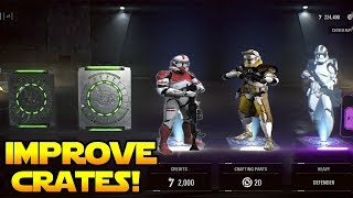 How to IMPROVE Battlefront 2 Loot Crates!