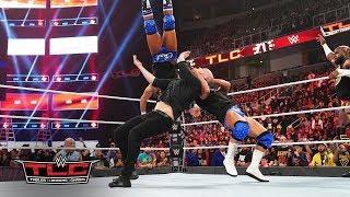 Kurt Angle, Health Slater & others deliver brutal steel chair strikes to Baron Corbin: WWE TLC 2018