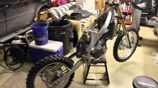KX250F | Time Lapse Re Build