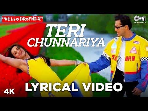 Xxx Mp4 Teri Chunnariya Lyrical Hello Brother Salman Khan Amp Rani Mukerji Himesh Reshammiya 3gp Sex