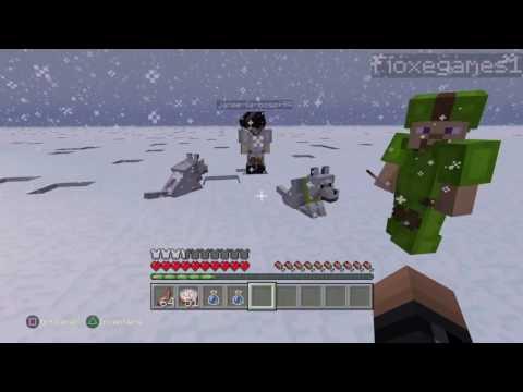 minecraft FILM perdu dans la neige