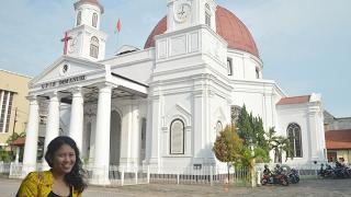 Suasana Ibadah Minggu Jam 6 Pagi di GPIB Immanuel (Gereja Blenduk) Semarang