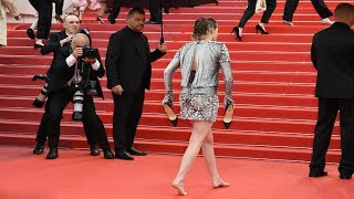 Kristen Stewart In Chanel At Cannes 2018 Red Carpet