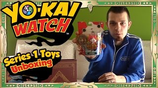 Yo-Kai Watch Toys - Unboxing ALL of Series 1 + Giveaway!