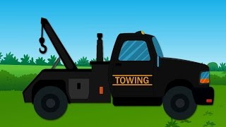 Tow Truck | Learn The Transport