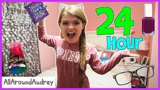 24 Hours Overnight In My Sisters Bedroom / AllAroundAudrey