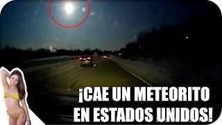 Vídeo de la caída del Meteorito que causo el temblor en Michigan | INFORMACIÓN