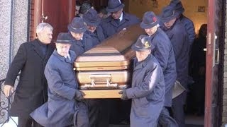 Raw video: Funeral of alleged Montreal Mafia boss Vito Rizzuto