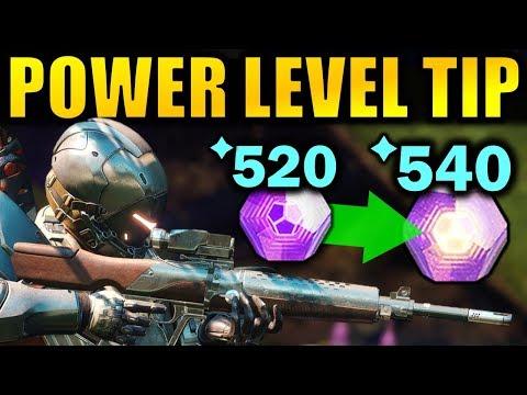 Xxx Mp4 Destiny 2 BIG POWER LEVELING TIP Get To 600 Power Faster Forsaken 3gp Sex