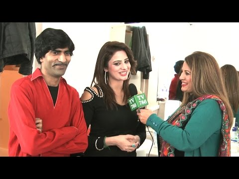 Pakistani Punjabi Stage Drama Actor Sajjan Abbas & Afreen s Interview