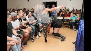 EWF - Ladies Come As You Are Street Fight! Maritza vs Raze