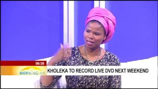 Kholeka celebrates 20 years of music, live at Joburg theatre