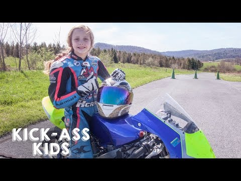Xxx Mp4 10 Year Old Motorcyclist Racing The Pros KICK ASS KIDS 3gp Sex