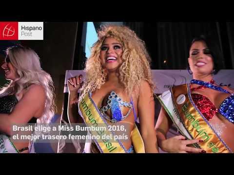Brasil elige a Miss Bumbum 2016 el mejor trasero femenino