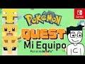 Jugando Automáticamente Pokémon Quest   Mi Equipo