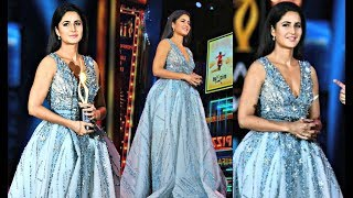Katrina Kaif Looks Beautiful In Blue Gown At IIFA Awards 2017