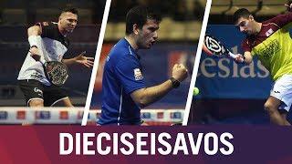 Resumen Jornada de Mañana Dieciseisavos de Final | Estrella Damm Catalunya Master 2018