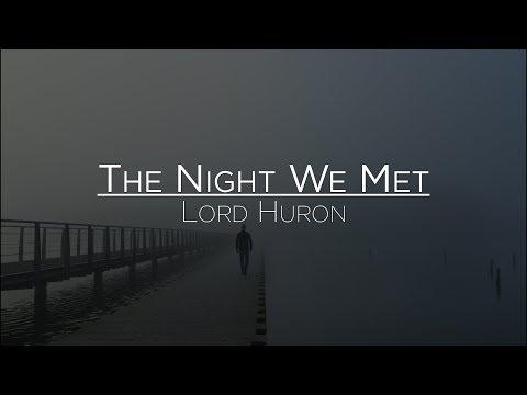 Lord Huron The Night We Met Letra en Español