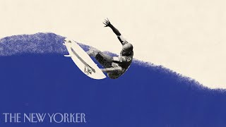 Surfing on Kelly Slater