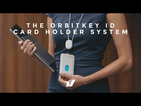 New From Orbitkey The ID Card Holder System