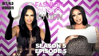 RuPaul's Drag Race Fashion Photo RuView with Raja and Raven: Season 5 Episode 5