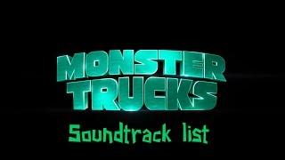 Monster Trucks Soundtrack list