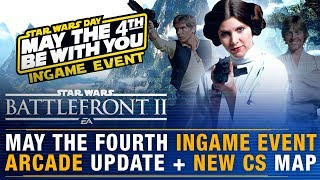 Leia May The 4th Event + Command System Soon + Arcade Update + Kashyyyk CS Map   Battlefront Update