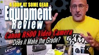 Canon R800 Review - Video Camera - Canon VIXIA HF R800 Camcorder Review