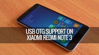 USB OTG Support on Xiaomi Redmi Note 3