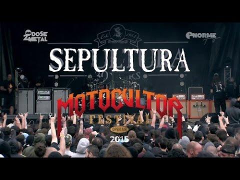 Sepultura - Live at Motocultor Festival 2015 Full concert