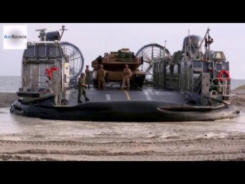 Giant Military Hovercraft • U.S. Marines